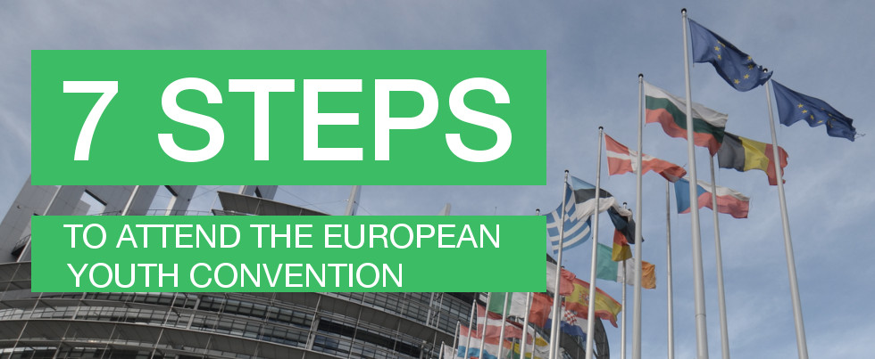 7 Steps To Attend The European Youth Convention banner