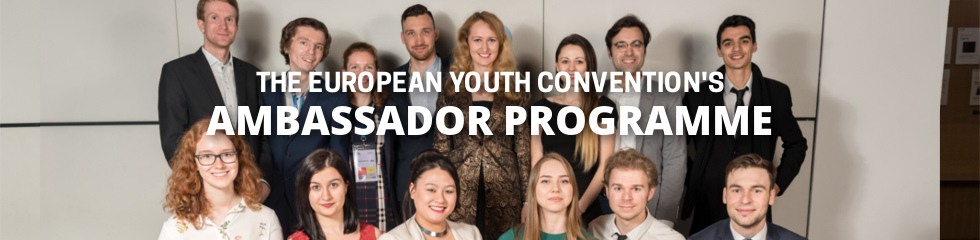 European Youth Convention Ambassadors