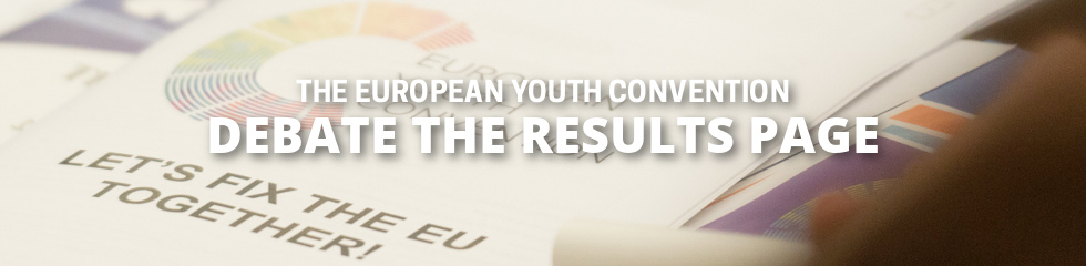 European Youth Convention debate the Citizen Constitution