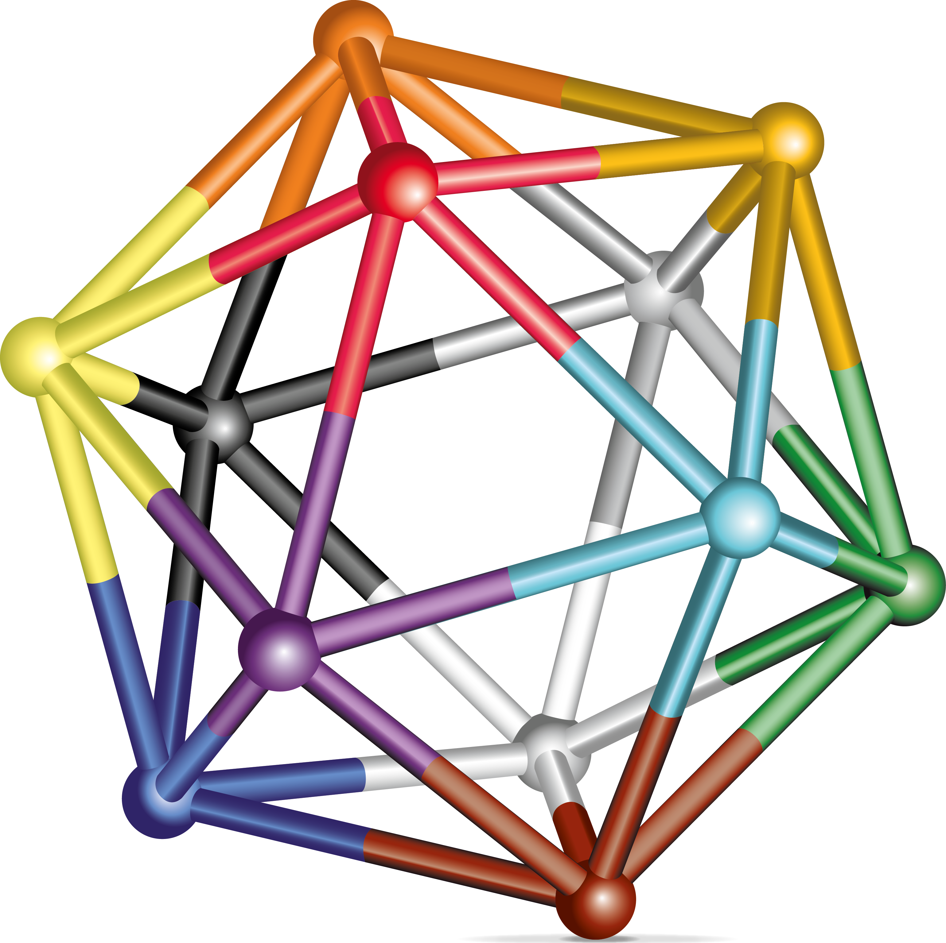 Malik Institute's Icosahedron graphic